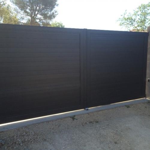 Système de portails coulissantes et de clôtures PA-C